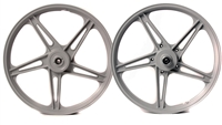 5 Star Wheel Set -Silver