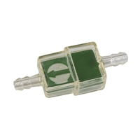 Inline Moped Fuel Filter -Rectangular