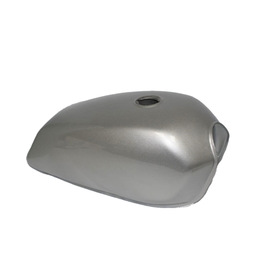 Universal Moped Gas Tank -Silver