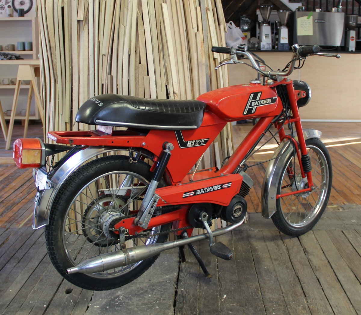 Batavus Hs50 Top Tank Moped