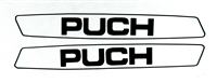 Puch Maxi Simple Black Sticker Set