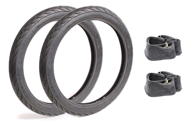 House Brand 17in Fatter Tire Tube Package