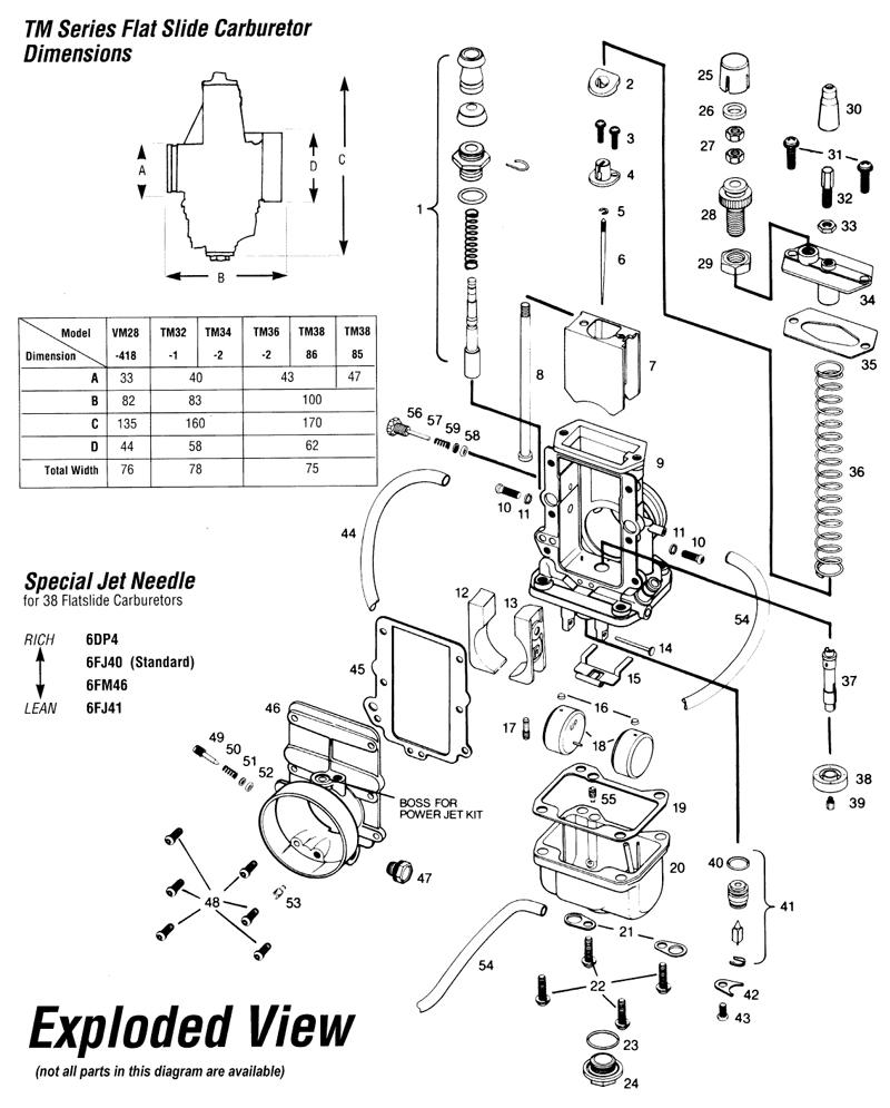 on Mikuni Carb Parts Diagram