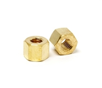 Brass Tall Exhaust Nuts