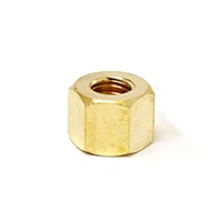 SINGLE Brass Tall Exhaust Nut