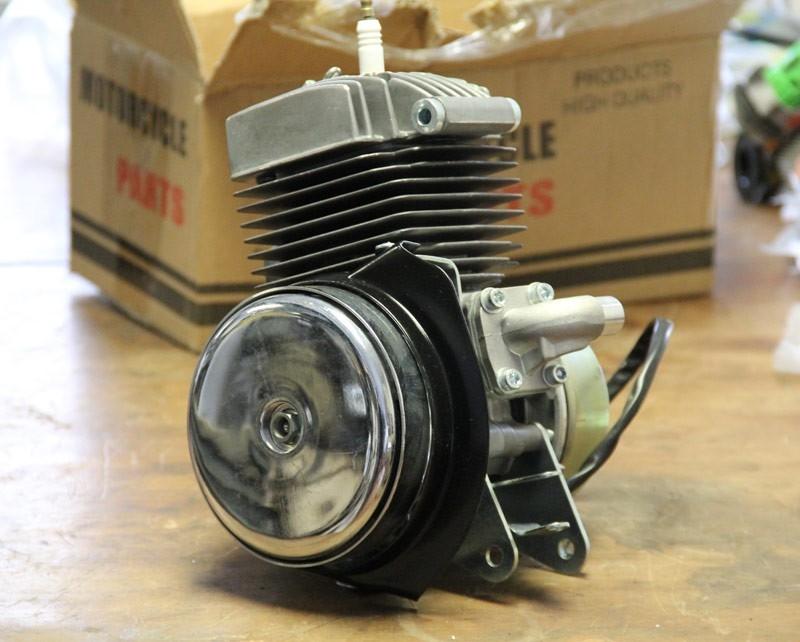 Motobecane Av10 Crate Motor
