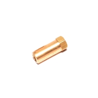 6mmLong Brass Exhaust Nut