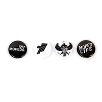 1977 Mopeds Button Pack