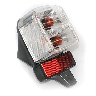 Tomos Minarelli Mornini Clear Taillight Assembly