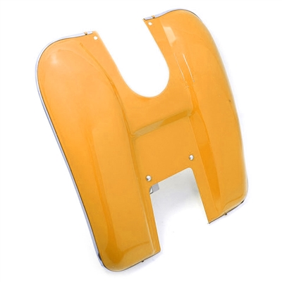Moped Stock Leg Shield -Orange