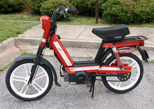 4 stroke moped 11