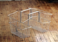 Moped Basket Set -White