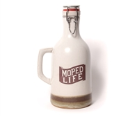 Moped Life Ceramic 64oz Growler