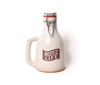 Moped Life Ceramic 32oz Howler