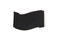 Moped Life Patch -BLKed Out