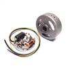 Sachs 504 80mm Stator and Flywheel Points Ignition Set