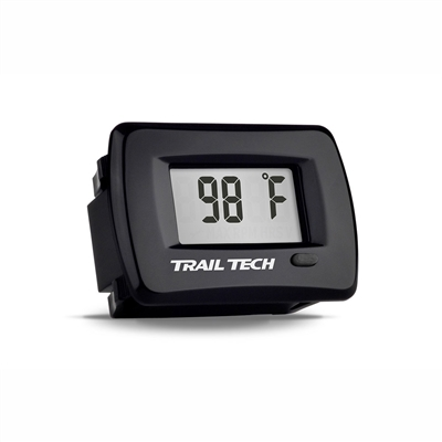 Trail Tech Temp Gauge Panel Mount -14mm Black