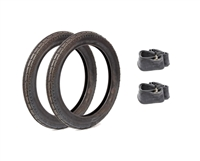 Noped 14in Tire Tube Package - honda express, fa50 and qt50